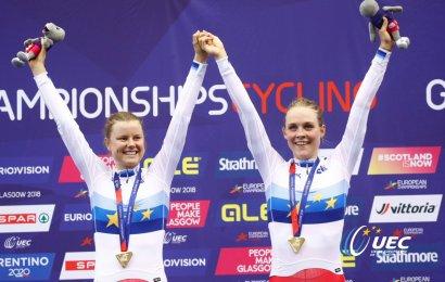 EM guld til Danmark i parløb