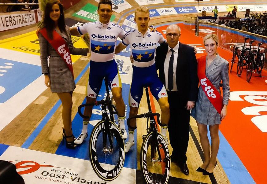 Europamesterne fører med tre point inden finalen i Gent