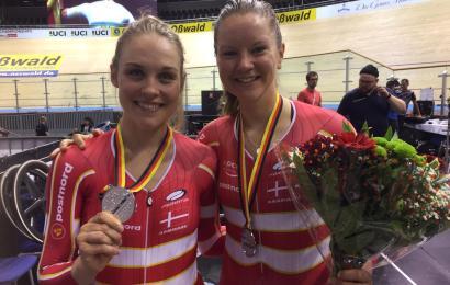 World Cup sølv til Julie Leth/Trine Schmidt
