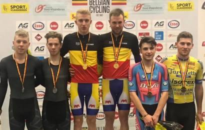 Moreno De Pauw/Robbe Ghys belgiske mestre i parløb