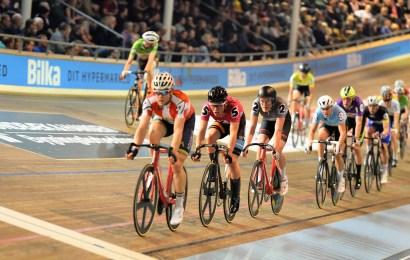 Sejr i rekordtid i 100 km parløb i Ballerup Super Arena