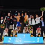 Marc Hester på podiet i Bremens 6-dagesløb