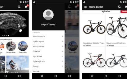 Heino Cykler går forrest med ny App