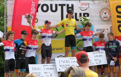 Sejr til William Blume i Youth Tour. Adam Holm Jørgensen fører nu Uno-X Cup'en