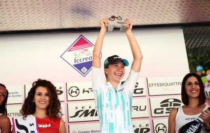 Cecilie Uttrup Ludwig fortsat nr. to i Giro Rosa