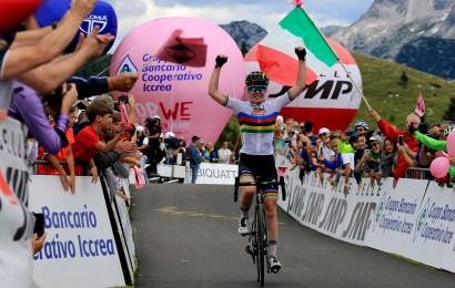 Sejr til verdensmesteren på 9. etape i Giro Rosa