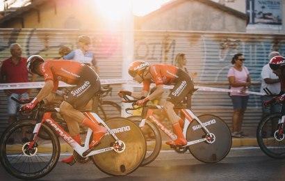 De danske startnumre til Vuelta a España nr. 74