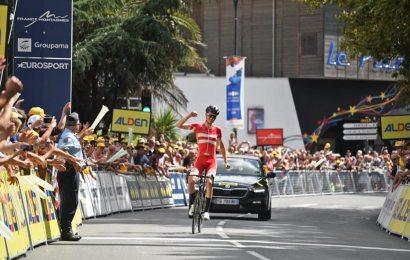 Mathias Norsgaard vinder 1. etape af Tour de l'Avenir