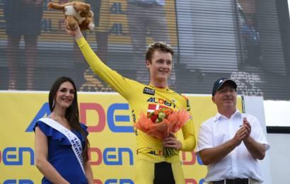 Mathias Norsgaard fortsat i gult i Tour de l'Avenir