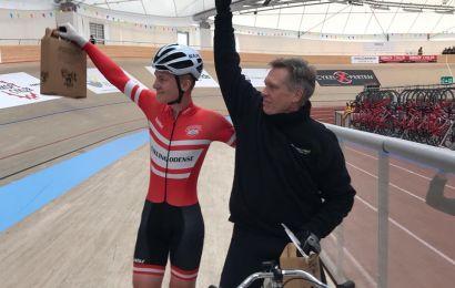 Rekord i 10 km Dernypace på Odense Cyklebane