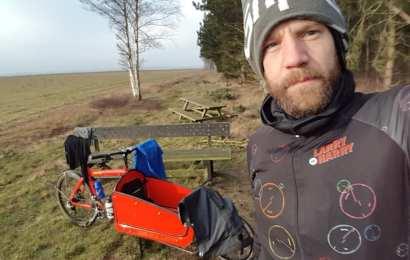 Professionel cykelrytter vil cykle til Nordkap
