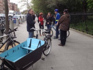 DCC cargo bike St Stephen Green