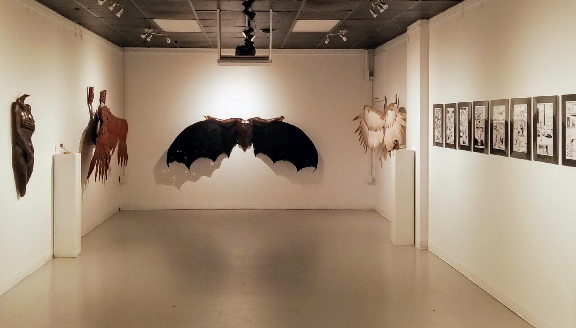 Dimensions Gallery Show - Cyclops Studios Adam Nahas in May 2019