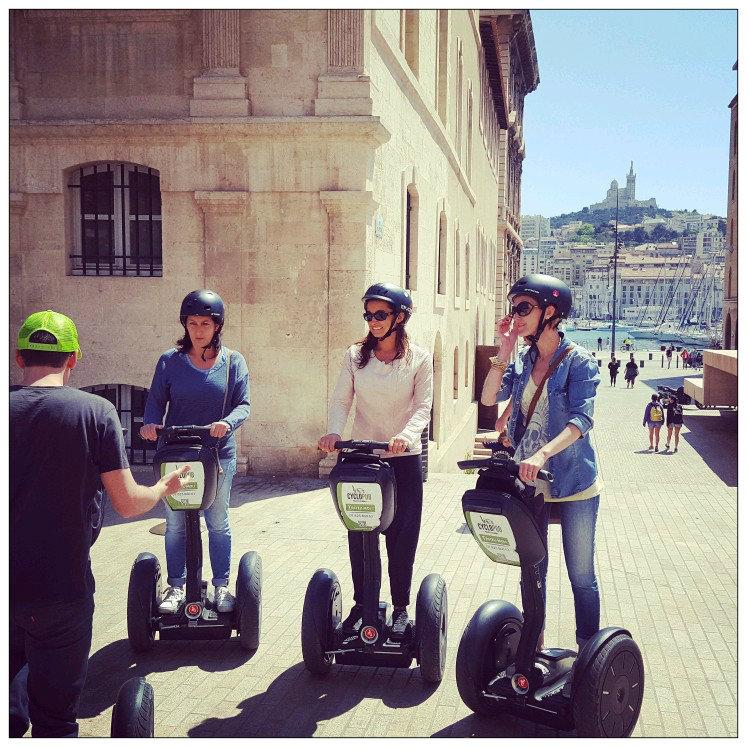 Segway tour in Aix-en-Provence & Marseille