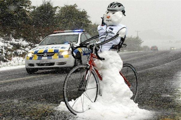 Conseils pour rouler en hiver