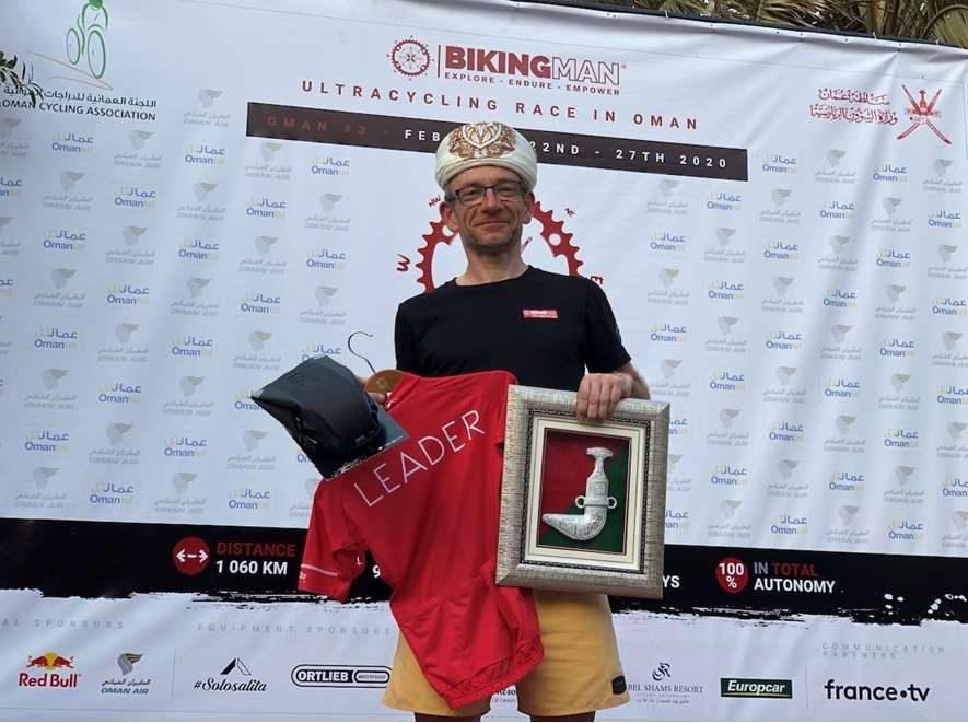 BickingMan Oman : Laurent Boursette en mode express