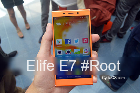 Root Gionee Elife E7