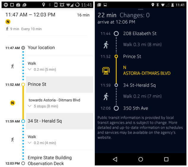 HERE maps for iOS 8