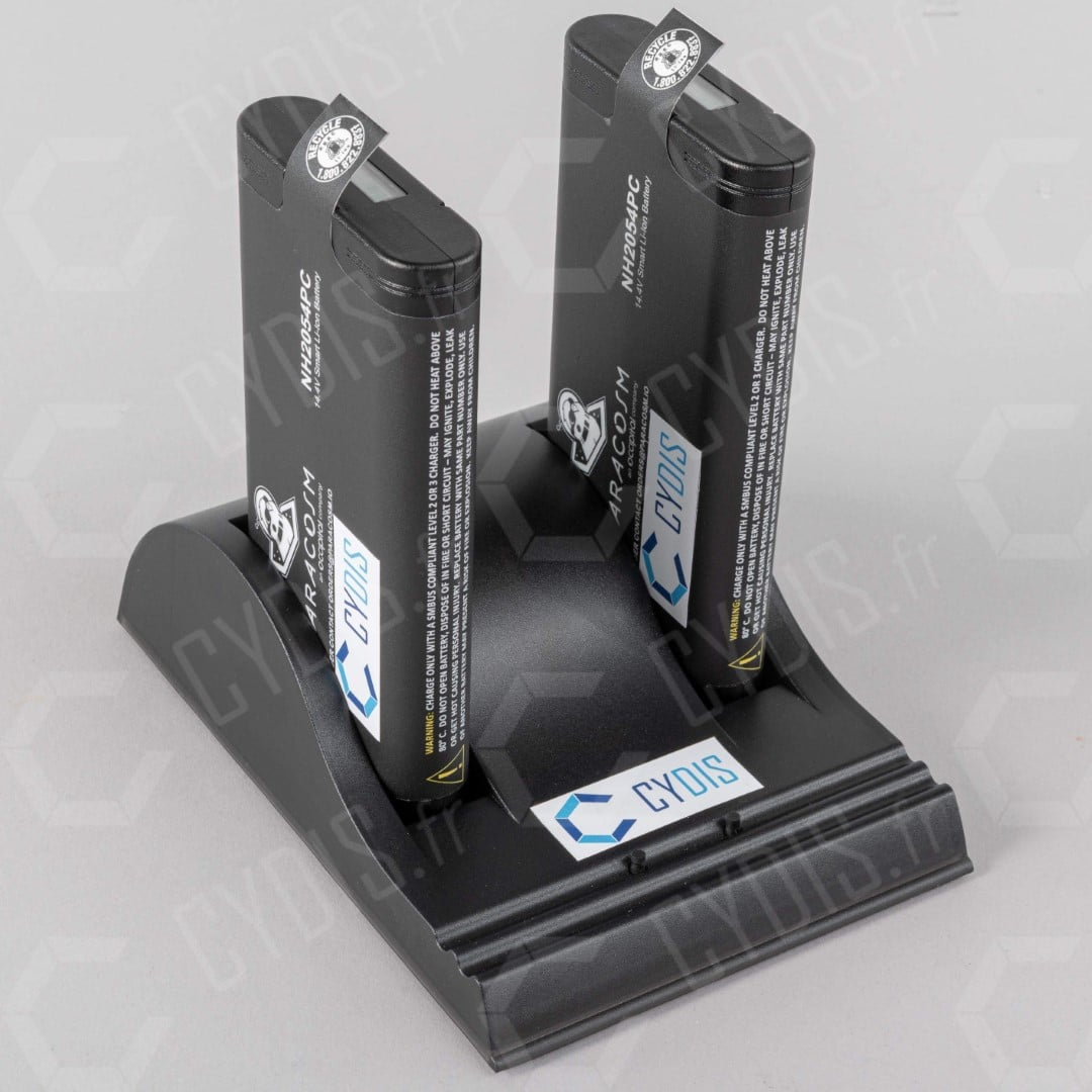 Batteries externes PRO KIT chargeur double scanner PX-80