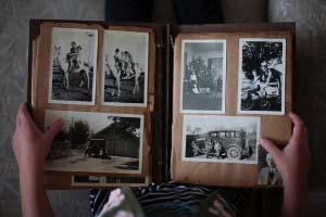 sentyment do tradycyjnych fotografii