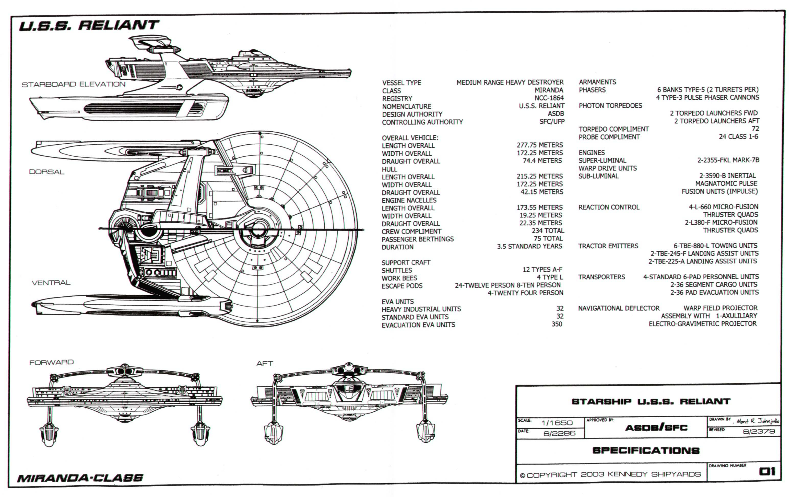 How Did Ships Like The Uss Reliant Travel At Warp Without