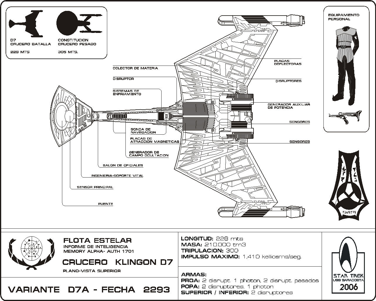 Star Trek Blueprints U S S Saracosta Ncc Website