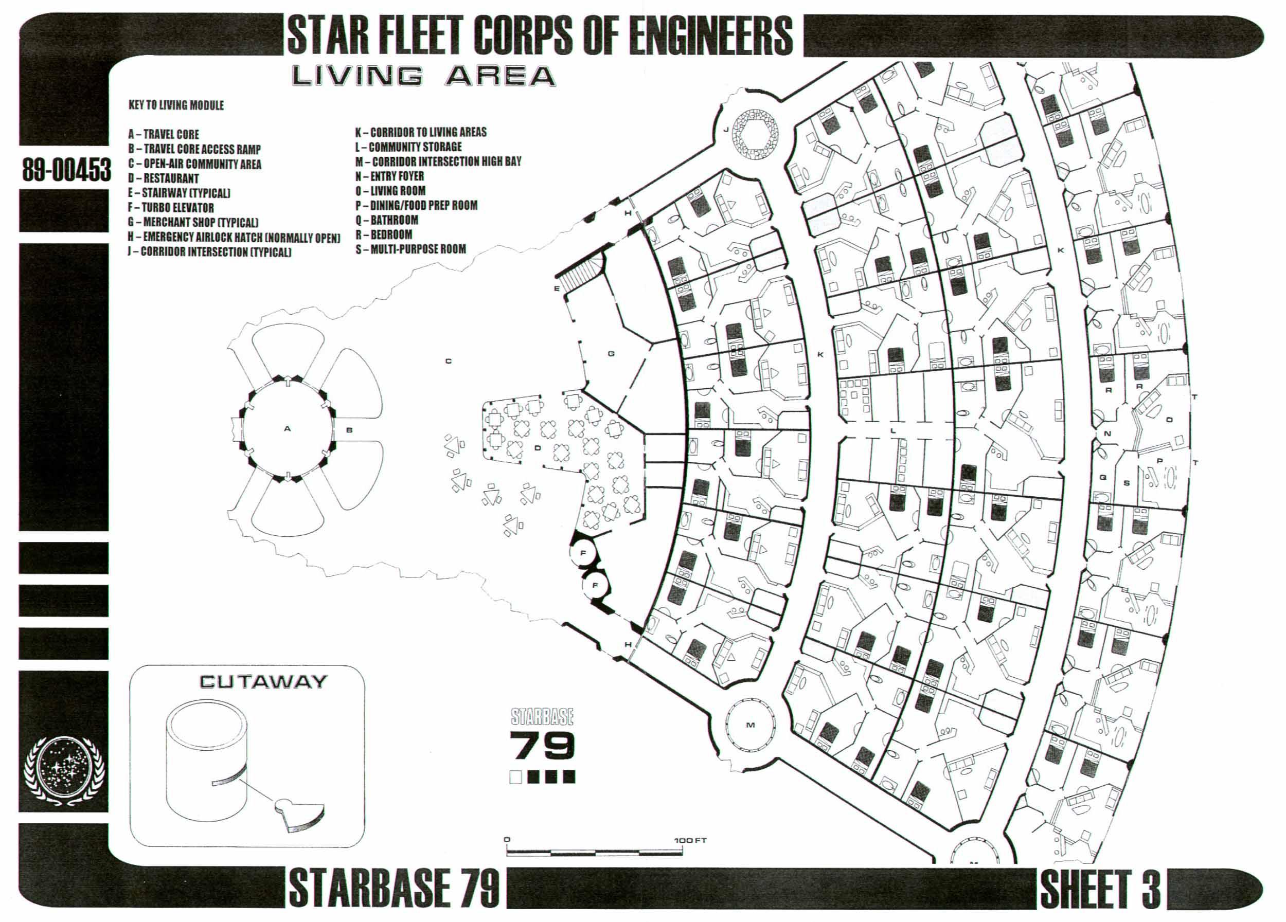 Star Trek Blueprints Starbase 79