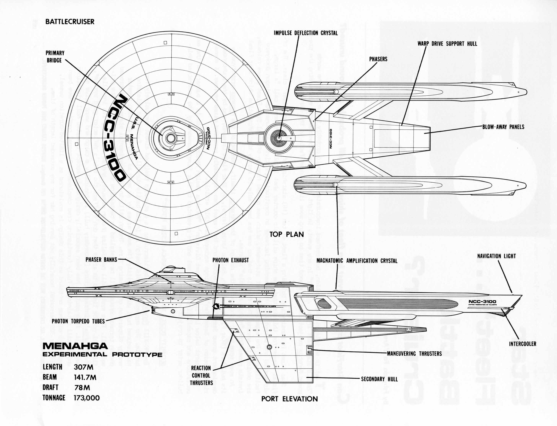 Lcars Star Trek Ship Schematics