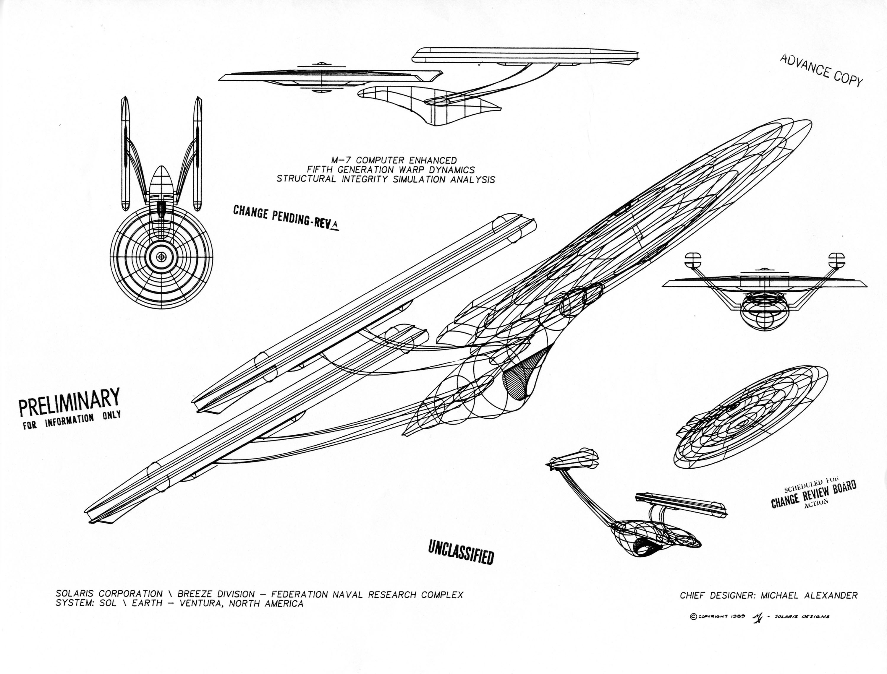 Star Trek Blueprints U S S Enterprise Nx A The