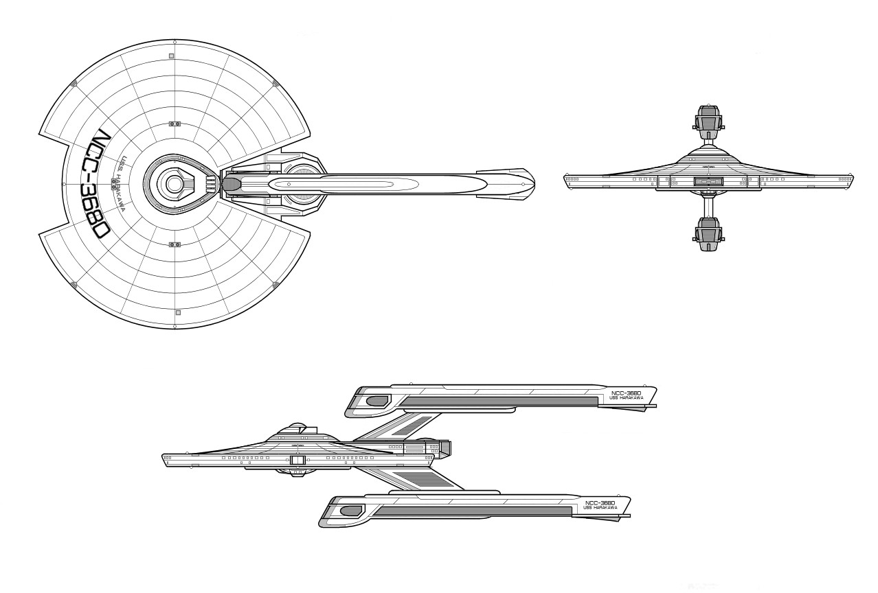 Mystery Star Trek Ship