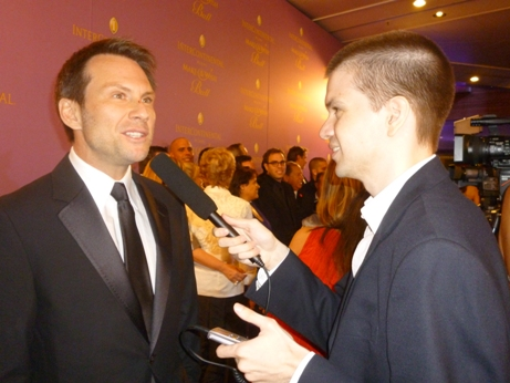 Christian Slater, Bullet To The Head, Chris Yandek, Make-A-Wish Gala Miami