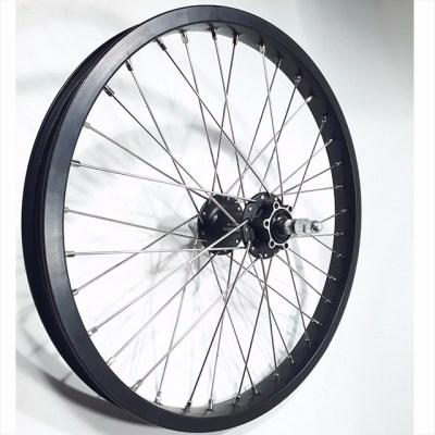 Hjul-20-tum-disk-brake-black-silver