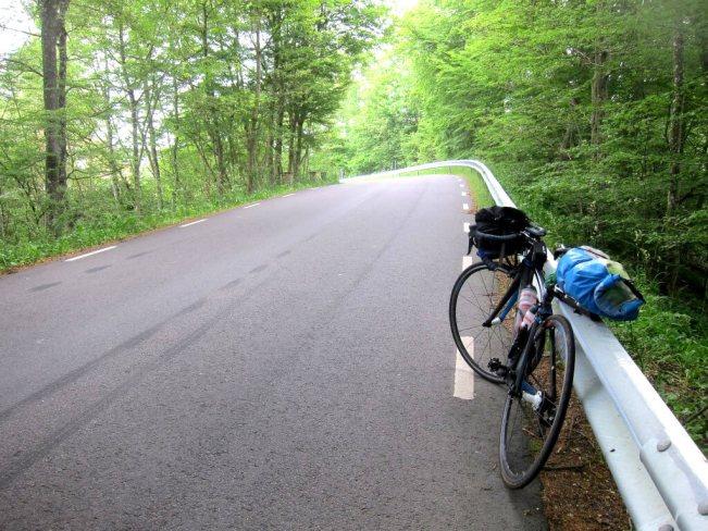 Cykel vägräcke
