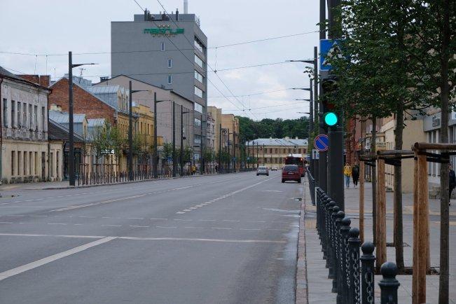 Bred väg i Kaunas