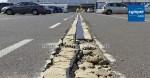 Reparar una junta de dilatación en pavimento asfáltico