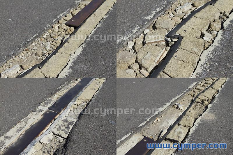 Reparación de junta de dilatación en pavimento asfáltico - 01
