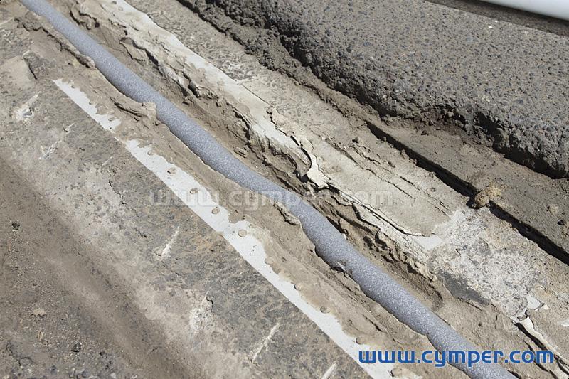 Reparación de junta de dilatación en pavimento asfáltico - 04
