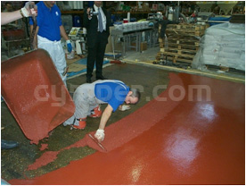 Proceso de ejecución para pavimentos de poliuretano cemento 04
