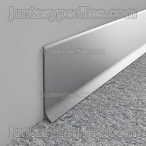 Rodapié aluminio ECO anodizado en barras