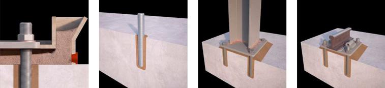 Grout - aplicación de mortero fluido para anclajes