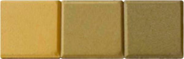 Probetas pigmentadas al 3% con amarillo óxido de hierro