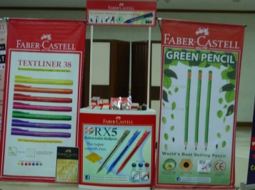 Faber-Castell booth