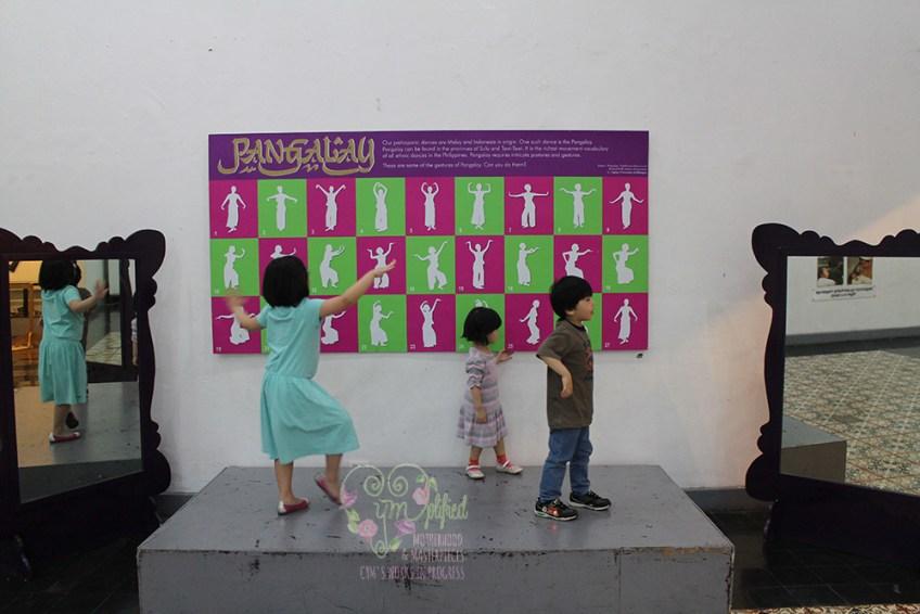 dancing in museo pambata