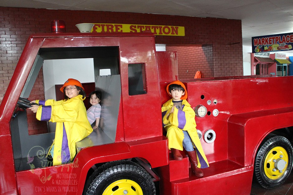 fire fighters of museo pambata
