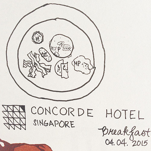 breakfast at concorde