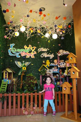 hotel kimberly tagaytay summer display