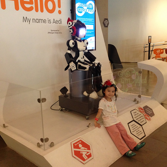 mind museum aedi the robot