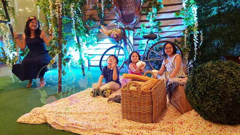 edsa shangri-la picnic set-up