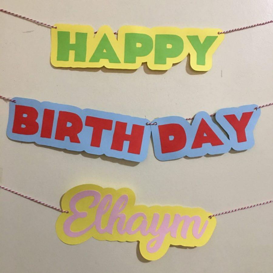 july birthday streamer