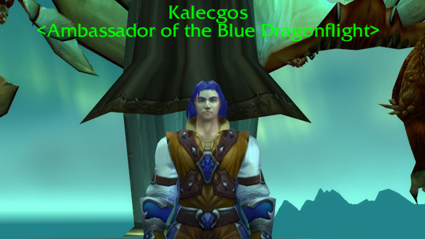 blue ambassador Kalecgos - Aspect of Magic